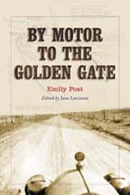 Jacket of By Motor to the Golden Gate